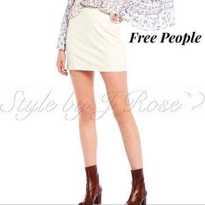 NWT's Free People 'Modern Femme' Mini Skirt